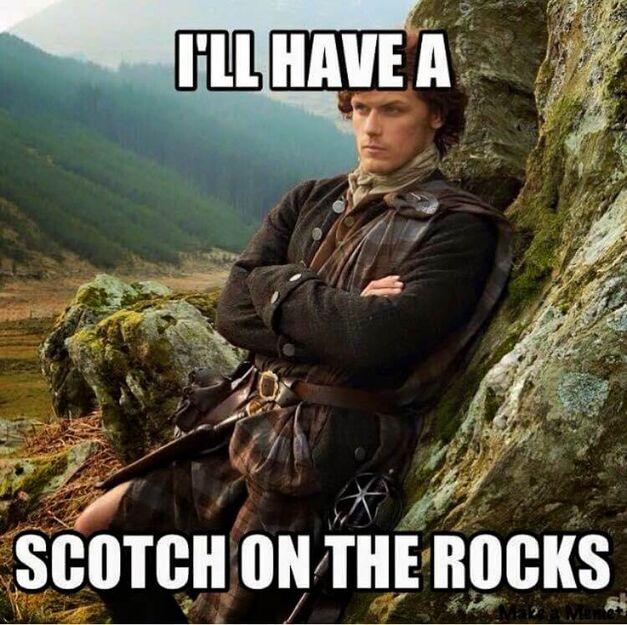Outlander Jamie meme