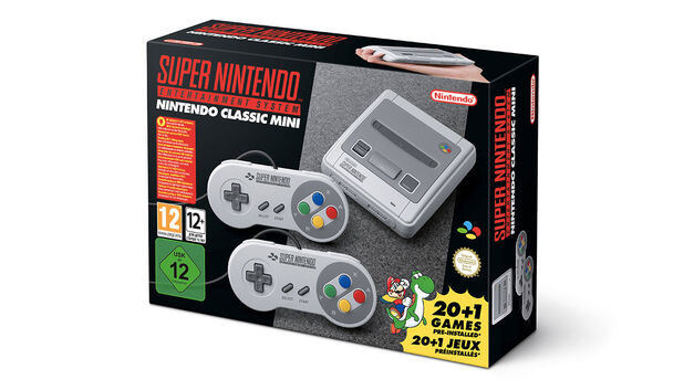 Nintendo announces SNES Classic console for September