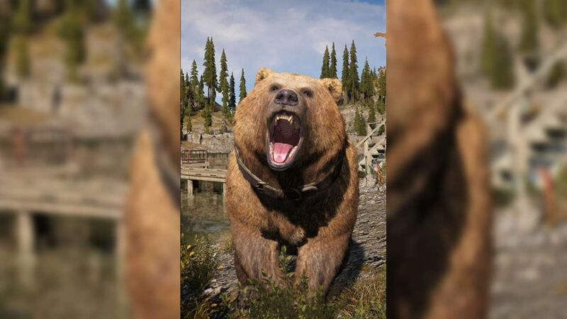 Far Cry 5 companions animals Cheeseburger