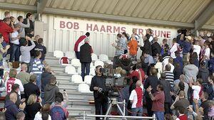 Opening Bob Haarms tribune
