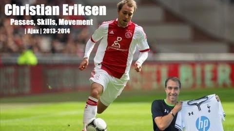 Christian Eriksen 2013-2014