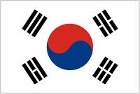 Zuid-Korea vlag