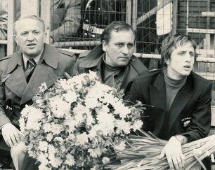 Stefan Kovács, Bobby Harms en Johan Cruijff