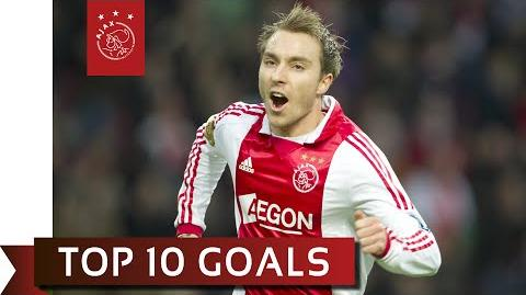 TOP 10 GOALS - Christian Eriksen