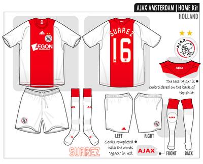 Ajax Amsterdam 2008-09 thuis