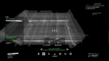 Deploy screen with vehicle