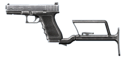 Glock-17 modified small