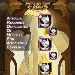 Athalia's ascension system, presumably the same for future Celestial heroes.
