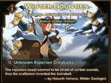 Winter Bounties Event