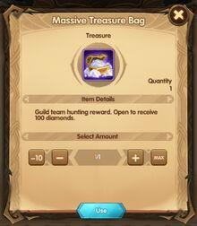 Massive Treasure Bag