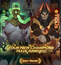 New Champions Event