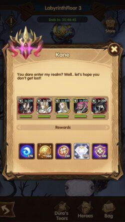 Kane Rewards example