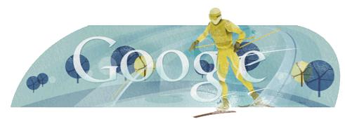 X-country-ski-Google-logo