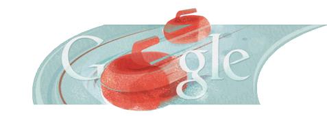 Curling-Google-logo
