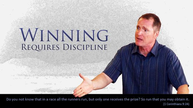 Winning Requires Discipline