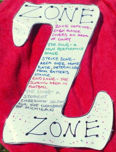 Letter Z zone