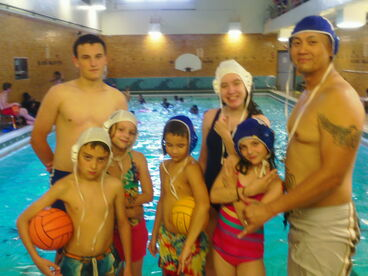 Post water polo practice at U-Prep-Sda13