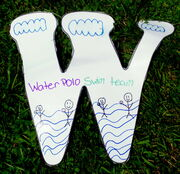 Letter W water and swim lessons