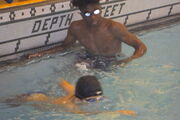 Jaden and Keheng Waterpolo
