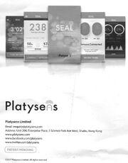 Platysens-contacts