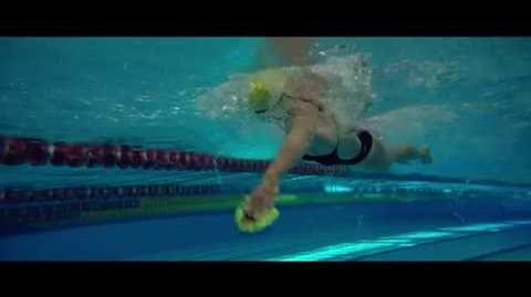 You can't be an Olympic swimmer with a twisted spine.