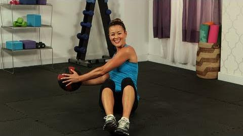 Seated Russian twist (exercise)
