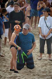 Corona Del Mar Beach Newport Beach w FINS