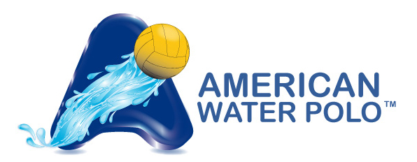 American Water Polo horizontal logo