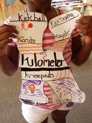 Letter K-Kickboxing