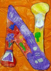 Letter N Nutrition