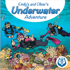 Cover Emily's and Eddie's Underwater Adventure(book)