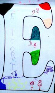 Letter E effort-UPREP