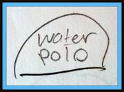 Hat water-polo