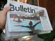 Bulletin water polo cover