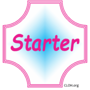 Starter-badge 1