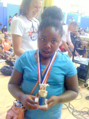 Most-improved Carmalt girl swimmer