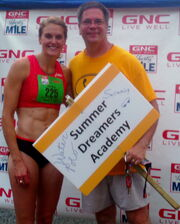 Heather and Mark after LibertyMile13