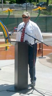 Citiparks Director Griffin