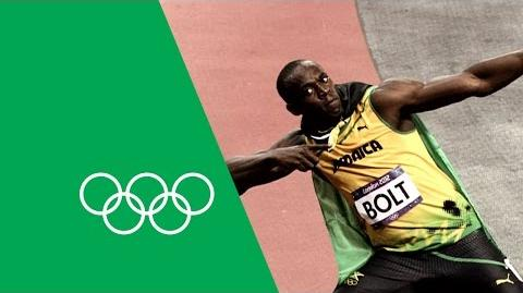 Michael Johnson analyzes Usain Bolt's 100m gold Greats on Greats
