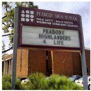 PeobodyHS sign