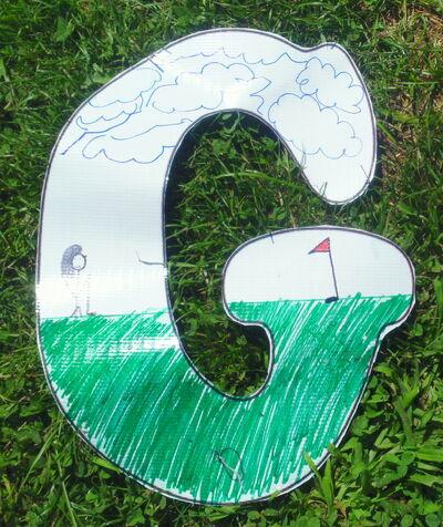 Letter G-golf