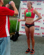Heather after Liberty Mile