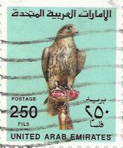 Stamp-UAE-falcon