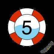 SKWIM Badge Level 5
