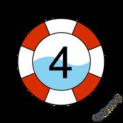 SKWIM Badge Level 4