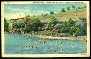 SouthParkPool postcard 1943