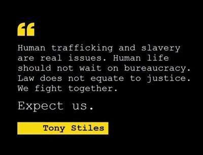 Tony on Trafficking