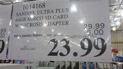 64gb micro SD card Costco