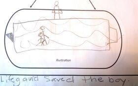 Lifeguard illustrat