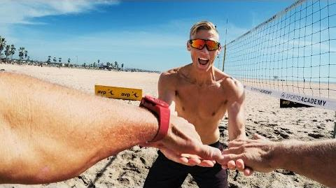 """GoPro """"Two Roads"""" - Beach Volleyball with Casey Patterson (Ep"""